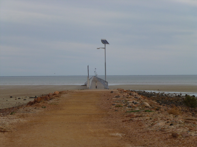 The Start of the Long Jetty at Port Germein
