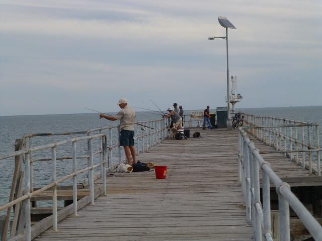 Fishermen at Port Germein