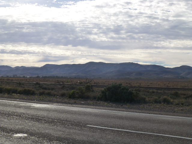 The Southern Flinders Ranges near Port Augusta