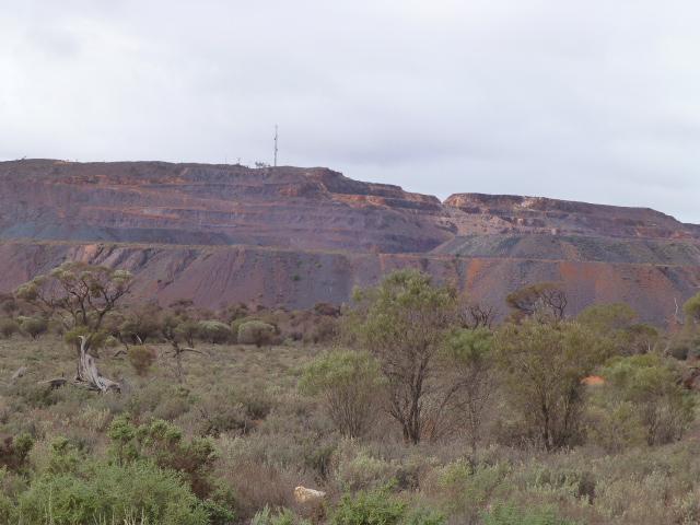 Mining Operations Near Iron Knob