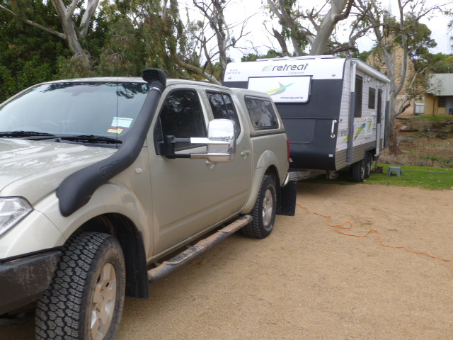 A Dirty Vehicle at Burra