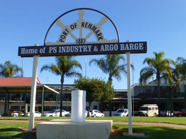 Port Sign at Renmark SA