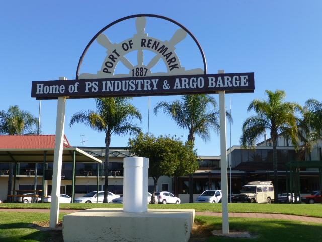 Port Sign at Renmark SA