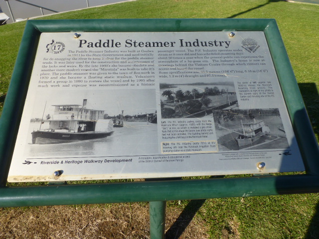 PS Industry Information Sign
