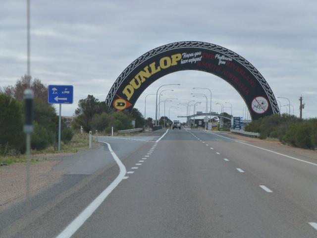 Over Road Sign at Yamba