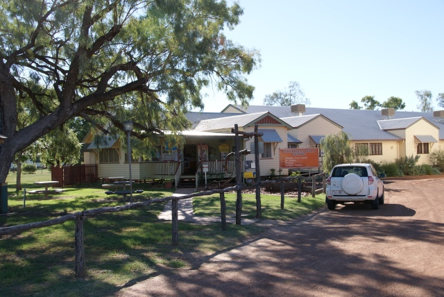 Visitor Information Centre at Cunnamulla