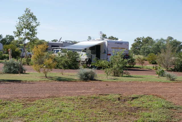 Our Camp Site at Cunnamulla