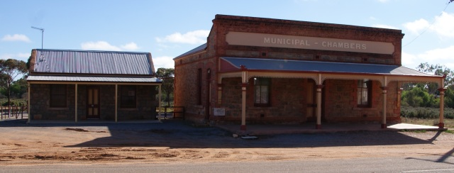 Old Municipal Chambers at Silverton
