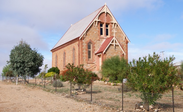 Old Catholic Church at Silverton