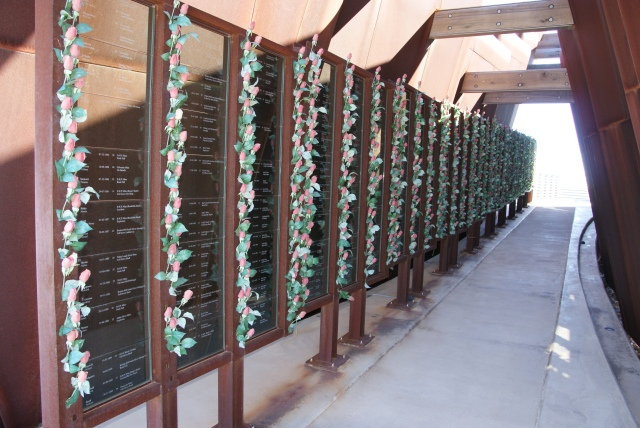 Inside the Miners' Memorial