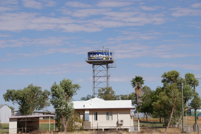 High Level Water Tank at Boulia