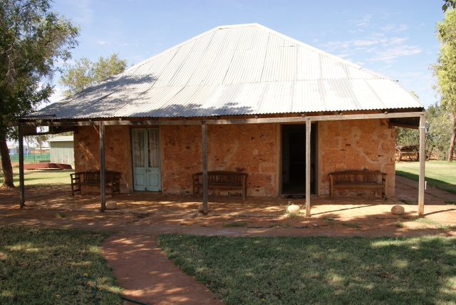 The Old Stonehouse at Boulia