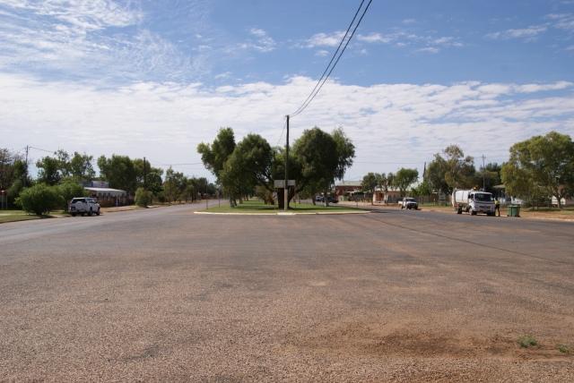Looking east - Main Street Boulia