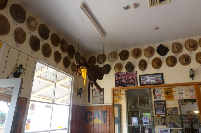 Hat Collection at Nindigully