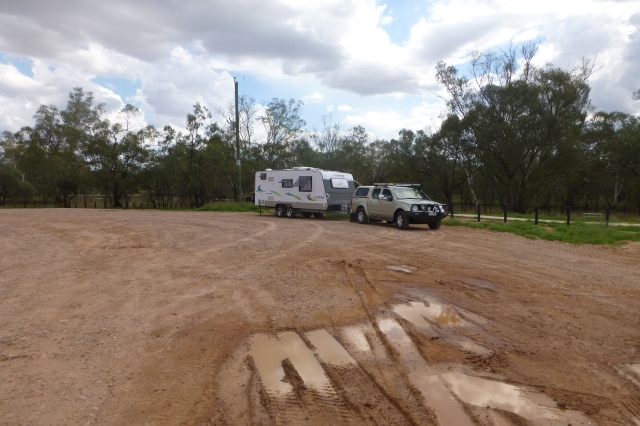 Our Campsite at Nindigully