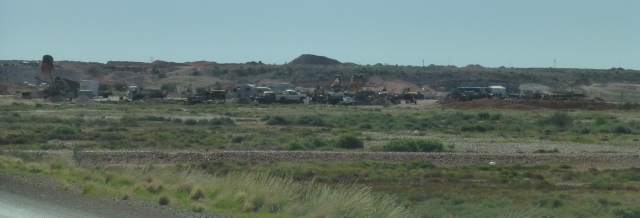 Mining Operations at Coober Pedy