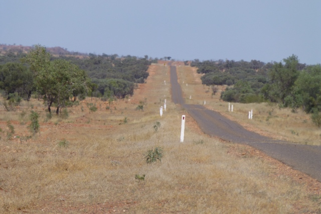 The Road Ahead to Boulia - South of Dajarra