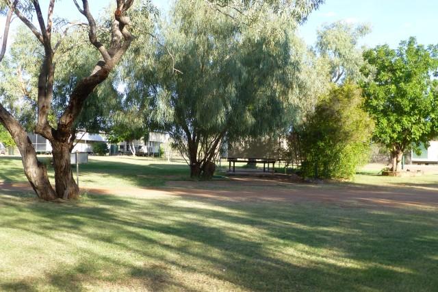 Caravan Park at Boulia