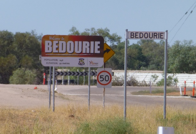 Welcome to Bedourie in the Diamantina Shire
