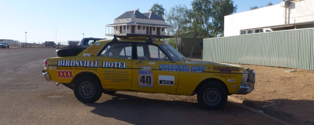 Birdsville Hotel Rally Car
