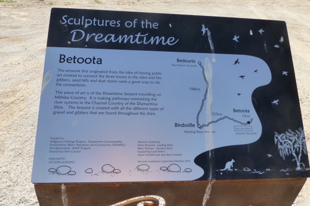 The Public Art near Betoota