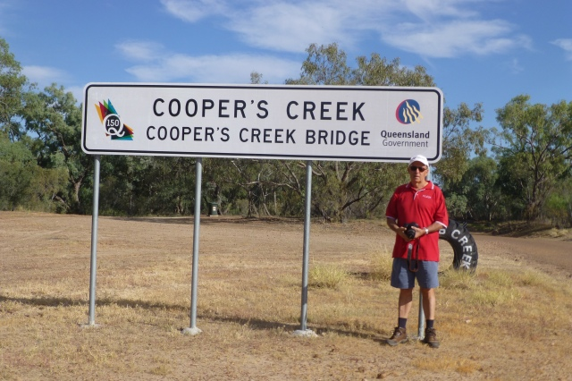 Murray at Cooper's Creek Bridge at Windorah
