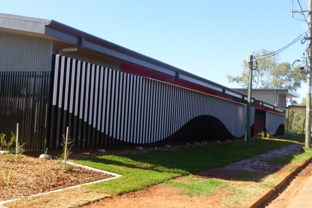 Side View of new Office at Thargomindah