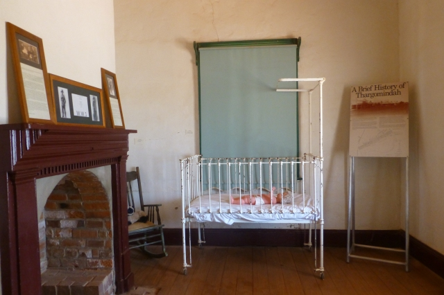 Inside the Historic House at Thargomindah