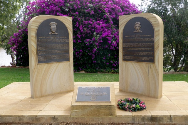 Memorial to two Airmen at St George