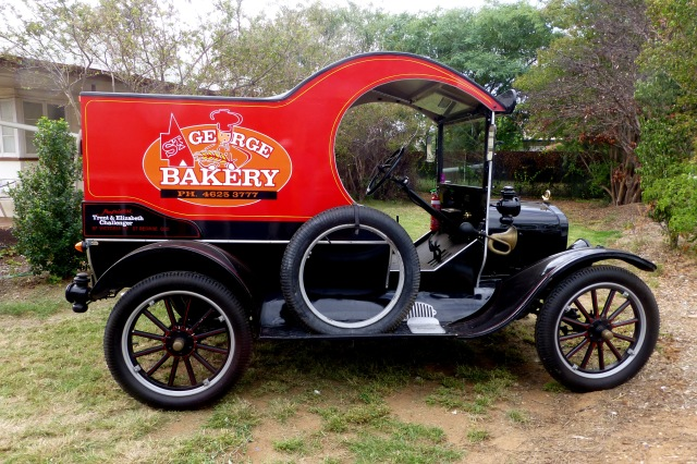 Bakers Van at St George - 1917 Model T Ford