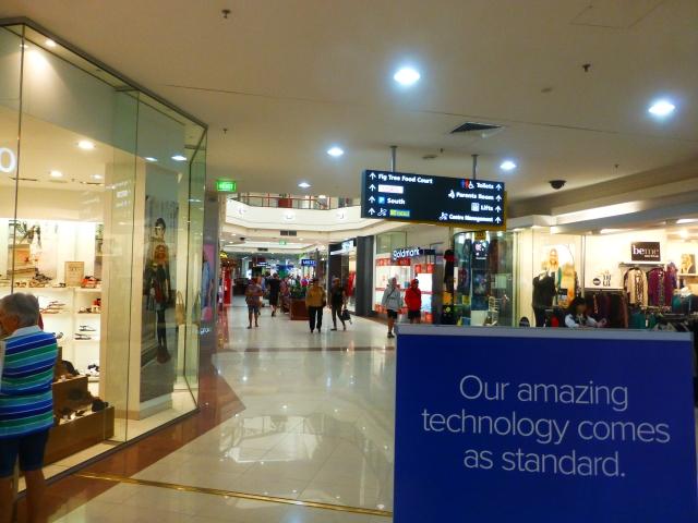 Inside Aussie Fair Shopping Centre