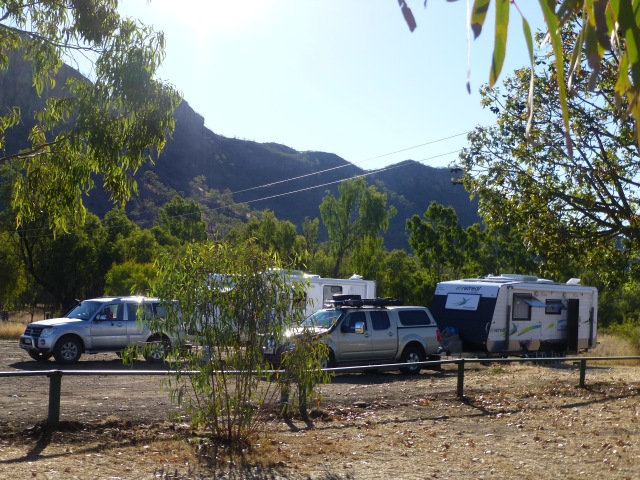 On site at the Virgin Rock Camp Ground