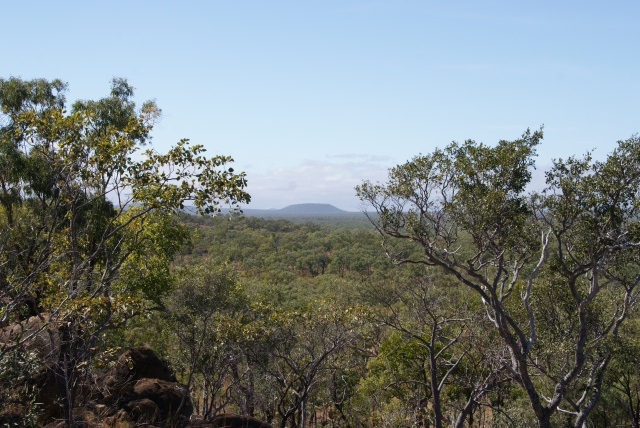 The view from Atkinson Lookout