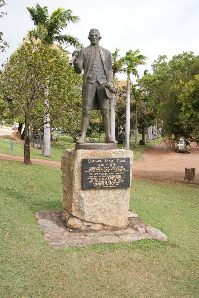 Cook's Statue in Cooktown