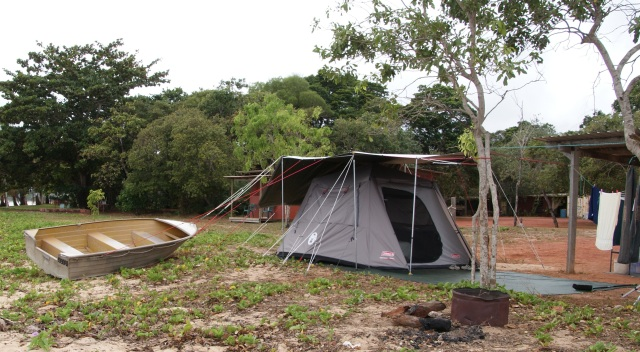 The Tent at Loyalty Beach
