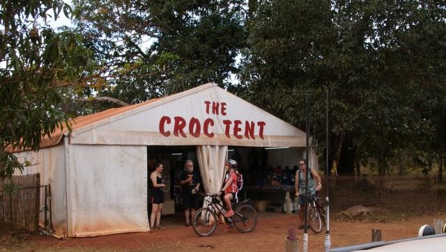 The Croc Tent