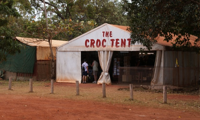 Margaret & Denise at the Croc Tent
