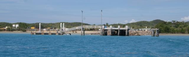 Wharf at Horn Island