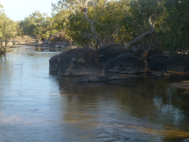 The Archer River crossing