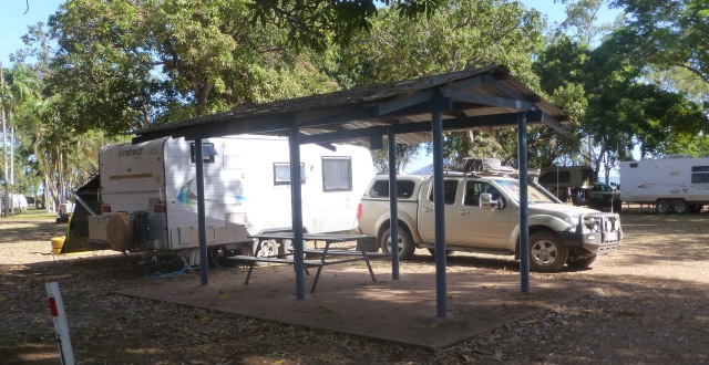 Our camp site in Weipa