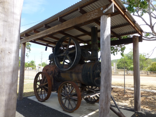 Old machinery at Cape York Heritage House