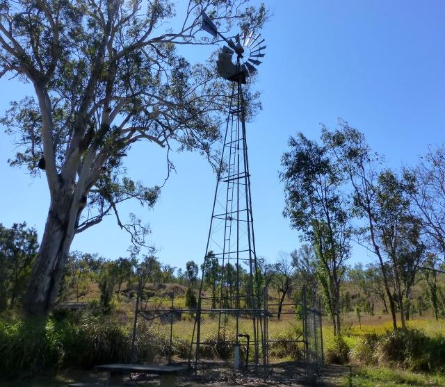 Windmill at Archer Creek Rest Area