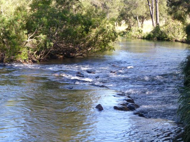Stream at Archer Creek rest area