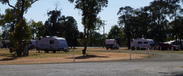McKenzie Park at Duaringa - could be a good overnight camp spot