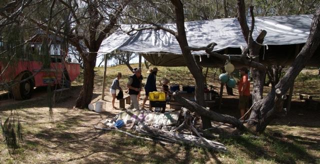The LARC picnic spot