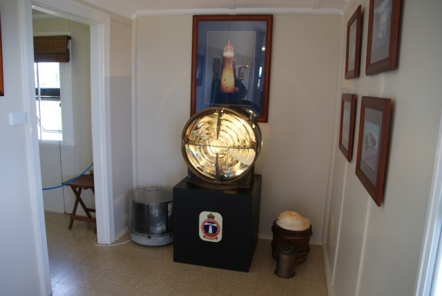 Part of the original light on display