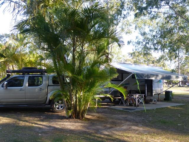 Our Caravan Site at Agnes Water