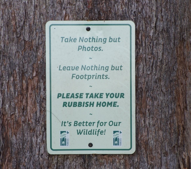 I love the sentiments expressed in this sign