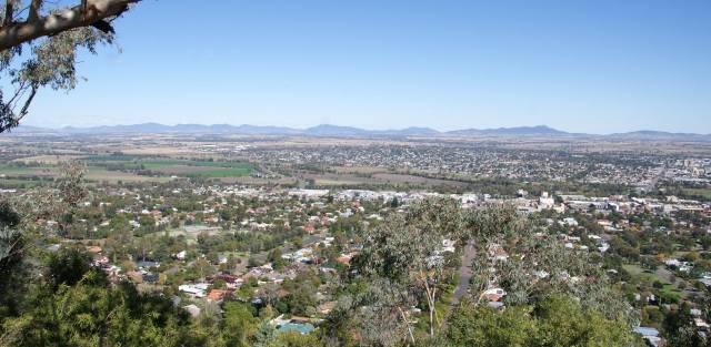 View from Oxley Lookout
