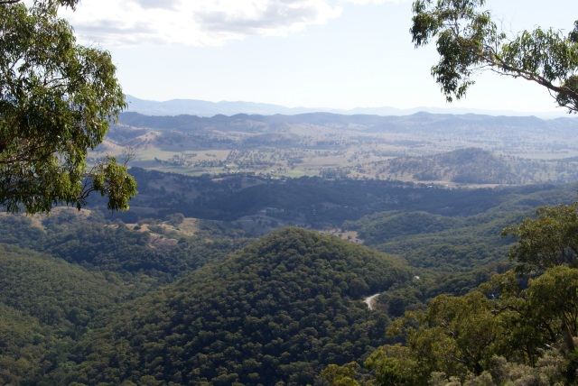 From Hanging Rock Lookout
